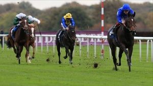 Beautiful Romance (R) will be going for the Epsom Oaks in June