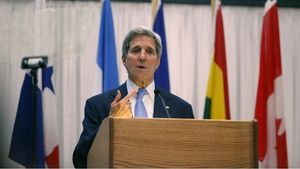 John Kerry said the conflict could engulf the Middle East if no negotiated settlement was achieved