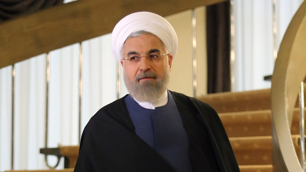 Iranian President Hassan Rouhani said there will not be an agreement unless there is an end to sanctions on Iran