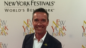 Kevin Dundon at the New York Festivals in Las Vegas