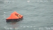 Fishermen rescued after overnight sinking