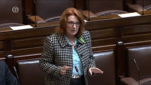 Minister of State at the Department of Health Kathleen Lynch was speaking in the Dáil today