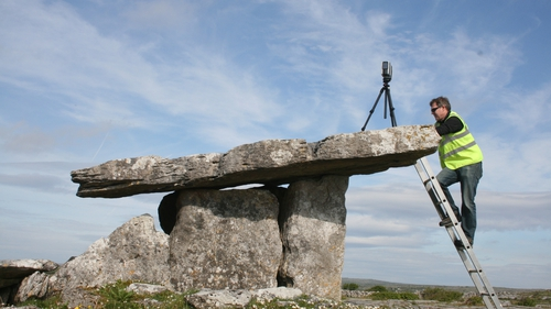 Monuments and sites were filmed, scanned and made available online