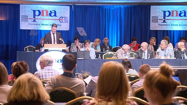 The Psychiatric Nurses' Association annual conference is taking place in the Hodson Bay Hotel in Athlone