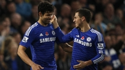 Diego Costa and Eden Hazard make the team