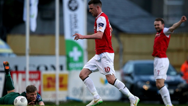 Ciaran Kilduff strike gives St Pat's derby spoils