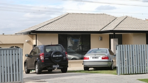 One of the houses raided by police in Melbourne as part of the operation