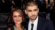 Zayn Malik and his mum, Trisha Malik at the Asian Awards 2015.
