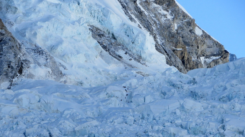 Eighteen people were killed in 2015 when a 7.8 magnitude earthquake triggered avalanches & Four climbers found dead in their tents on Everest