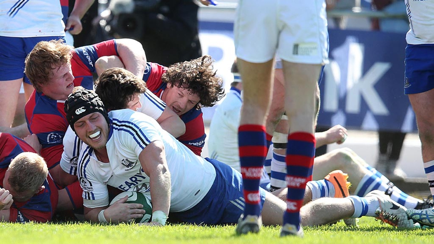 Ulster Bank Cup Final: Cork Constitution v Clontarf