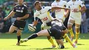 Clermont's Wesley Fofana score the only try of the game