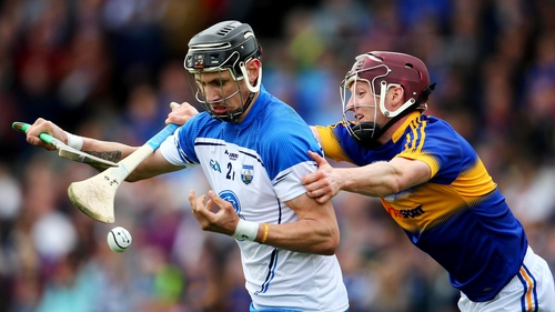 Maurice Shanahan in action against Tipperary
