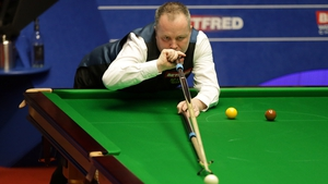 John Higgins was in impressive form in the first round at the Crucible