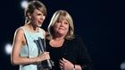 Swift and mum Andrea