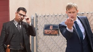 Michael Peña and Alexander Skarsgård - War on Everyone stars are Ryan Tubridy's guests on Friday on RTÉ One at 9.35pm