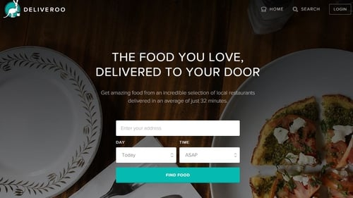 Online food delivery service Deliveroo launches in Dublin