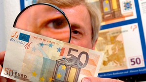 84% of the counterfeit currency withdrawn consisted of €20 and €50 notes
