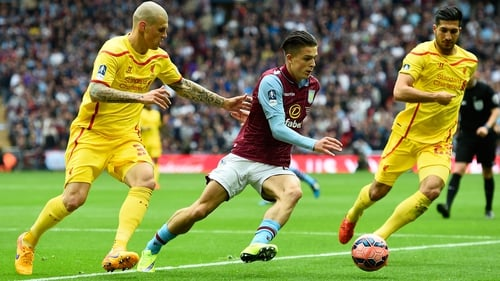 Jack Grealish played a starring role in Aston Villa's semi-final win against Liverpool