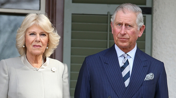 Britain's Prince Charles and his wife Camilla will visit Sligo and Galway next month