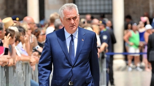 Tomislav Nikolic had to cancel his official visit to the Vatican after the incident