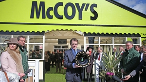 Tony McCoy opens the newly named McCoy's bar on Grand National day