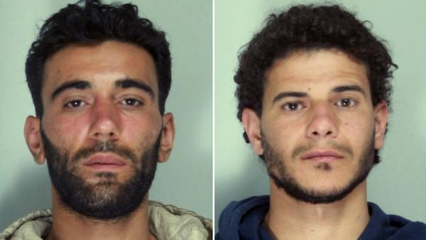 Mohammed Ali Malek (L) and Mahmud Bikhit have both been arrested