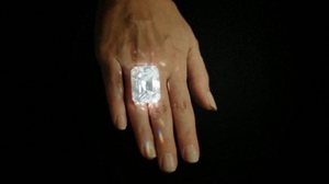 An anonymous buyer purchased the diamond via a telephone bid