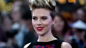 Avengers star Scarlett Johansson on the red carpet in London