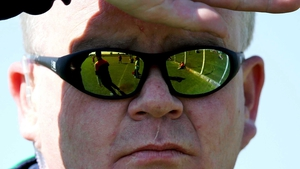 Limerick Manager Joe Quaid watches the Irish Daily Star League Division 1 Semi-Final between his side and Cork on Sunday