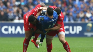 Kearney then feels the full force of Bastareaud and Guirado