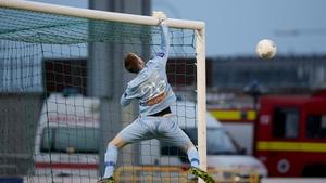Goalkeeper Craig Hyland during the Shamrock Rovers vs Dundalk game on Friday