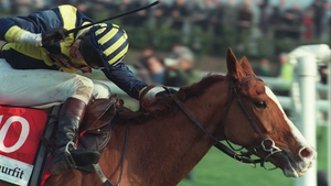 Make A Stand wins the 1997 Champion Hurdle under Tony McCoy