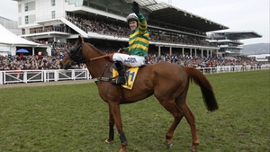 Uxizandre gives Tony McCoy a final win at the Cheltenham Festival in the Ryanair Chase