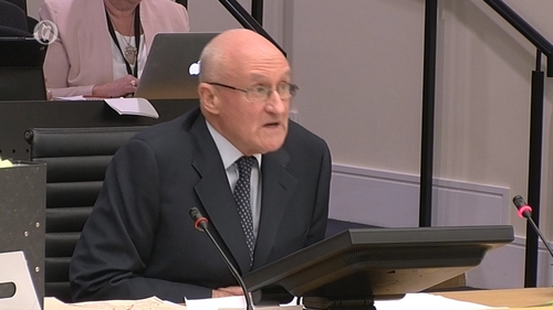 Mr Gleeson said he wanted to express his sincere regret for his part in events
