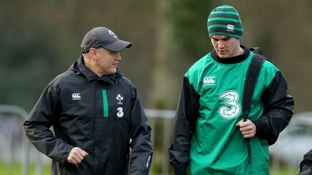 VIDEO: Joe Schmidt names strong side to face Wales