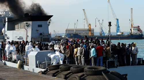 Italy and other southern European countries are clamouring for EU help to deal with the influx of migrants