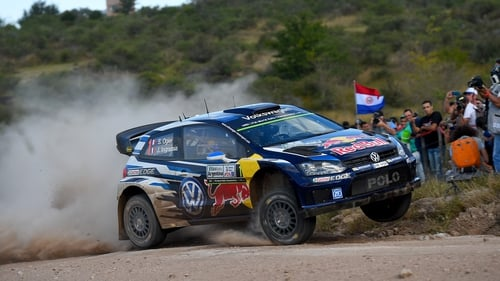 Sebastian Ogier sets the pace at Rally Argentina