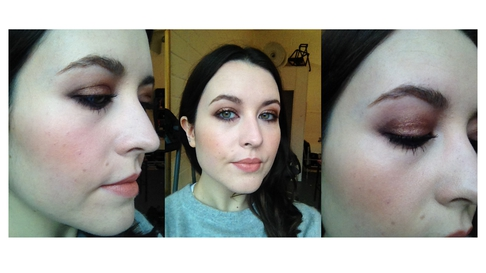 Lesley Keane creates a bridal makeup look