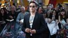 Robert Downey Jr was joined on the red carpet by Chris Hemsworth, Mark Ruffalo, Chris Evans, Scarlett Johansson, Jeremy Renner, Aaron Taylor-Johnson, Elizabeth Olsen and Paul Bettany, among others