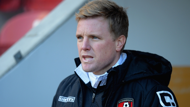 Eddie Howe named LMA manager of the year