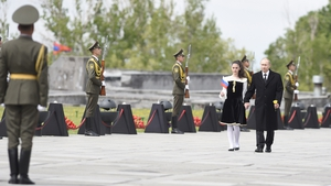 Vladimir Putin takes part in Armenian  centenary comemoration