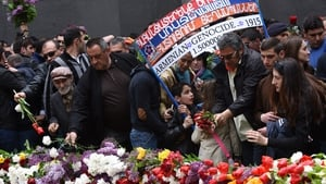 An emotional ceremony was held in the Armenian capital Yerevan
