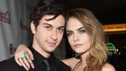 Cara Delevingne and her Paper Towns co-star Nat Wolff
