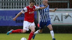 Chris Forrester in action for former club St Patrick's Athletic