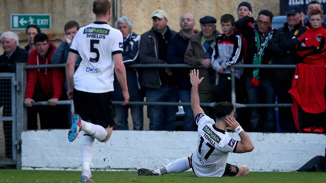 Towell wipes smile off Cork faces in Dundalk win