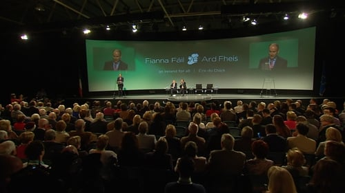 Up to 3,000 delegates are gathered at the RDS in Dublin for the 76th Fianna Fáil Ard Fheis