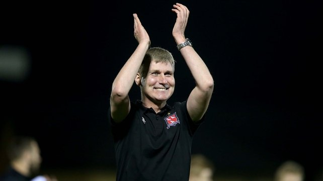 Kenny heaps praise on victorious Dundalk