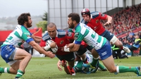Munster secure bonus-point win over Treviso