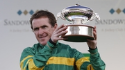 Tony McCoy brought down curtain on his illustrious career at Sandown with his 20th consecutive champion jockey title