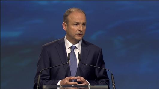 Micheal Martin, Leader of Fianna Fáil